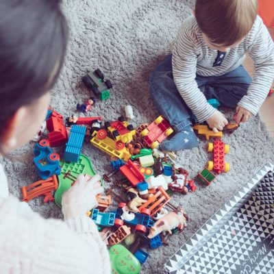 Aufräumen Spielzeug